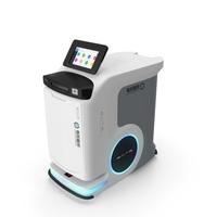 SAITE Intelligence Hospital Delivery Robot PNG & PSD Images
