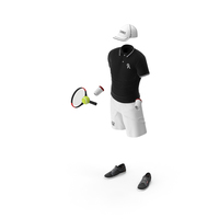 Tennis Wear Set PNG & PSD Images