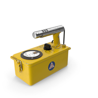 Victoreen CDV 700 Cold War Geiger Counter Old PNG & PSD Images