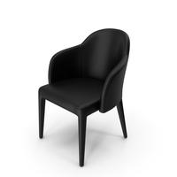 Fendi Audrey Chair Black PNG & PSD Images
