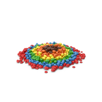 Large Pile Of Mixed Color Coated Chocolate Candy PNG & PSD Images