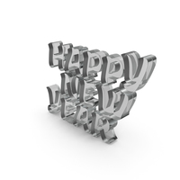 Happy New Year Glass PNG & PSD Images