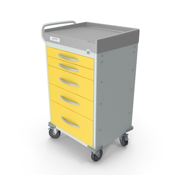 Detecto Rescue Series Medical Cart PNG & PSD Images