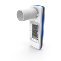 Handheld Digital Spirometer PNG & PSD Images