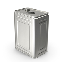 Olive Oil Metal Can 10L PNG & PSD Images