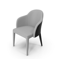 Fendi Audrey Chair Black and White PNG & PSD Images