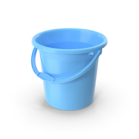 Unbreakable Plastic Bathroom Bucket PNG & PSD Images