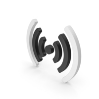 Wi-Fi Duo Symbol Middle PNG & PSD Images
