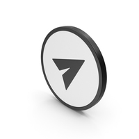 Icon Send Button PNG & PSD Images