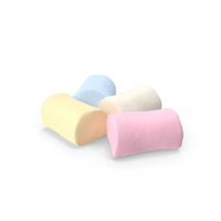 Small Pile Of Marshmallows PNG & PSD Images