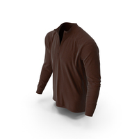 Men's Pullover Brown PNG & PSD Images