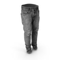 Jeans Dark Grey PNG & PSD Images