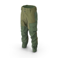 Hunting Pants Green PNG & PSD Images