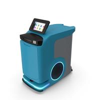 Autonomous Hospital Delivery Robot PNG & PSD Images