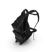Camping Backpack 1 Black PNG & PSD Images