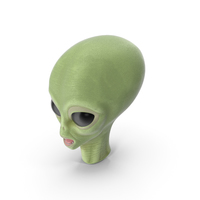 Cartoon Alien Head PNG & PSD Images