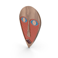 Decorative African Design Mask PNG & PSD Images