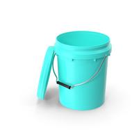Food Grade 10L Plastic Bucket PNG & PSD Images
