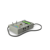 Professional Digital Geiger Counter PNG & PSD Images