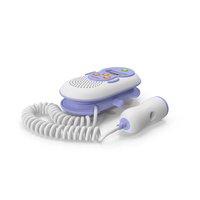 Sonicaid One Rate Display Fetal Doppler PNG & PSD Images