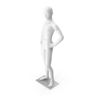 Boy Mannequin White PNG & PSD Images