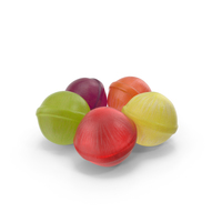 Small Pile of Spherical Hard Candy PNG & PSD Images