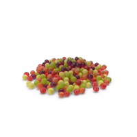 Pile of Spherical Hard Candy PNG & PSD Images