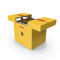 DHL Express Delivery Drone Station PNG & PSD Images