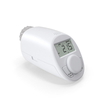 EHT Classic N Electronic Radiator Thermostat PNG & PSD Images