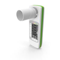 MIR Spirobank II Spirometer with Reusable Turbine PNG & PSD Images