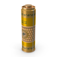 Olive Oil 1 Litre Tin Can PNG & PSD Images