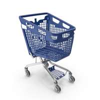 PP Plastic Shopping Cart 170L PNG & PSD Images