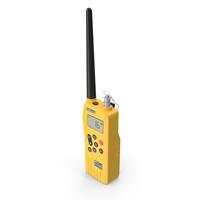 Ocean Signal SafeSea V100 GMDSS VHF Radio PNG & PSD Images