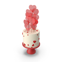 Valentines Cake PNG & PSD Images