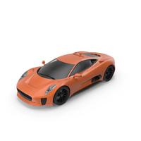 Sports Car Orange PNG & PSD Images