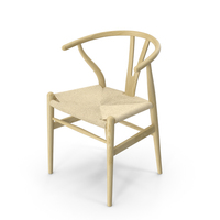 CH24 Wishbone Chair PNG & PSD Images