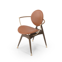 Circle Dining Chair PNG & PSD Images