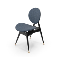 Circle Dining Chair WithoutArm PNG & PSD Images
