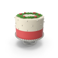 Christmas Cake PNG & PSD Images