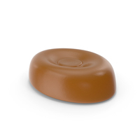Oval Hard Candy Caramel PNG & PSD Images