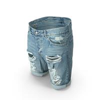 Mens Shorts Blue PNG & PSD Images
