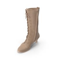 Women's High Heel Shoes Beige PNG & PSD Images