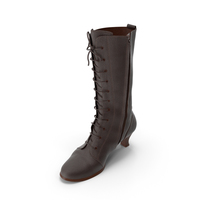 Women's High Heel Shoes Brown PNG & PSD Images