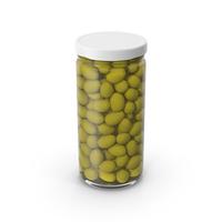 Olives Jar White PNG & PSD Images