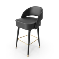 Covet Lounge 2016 Collins Bar Chair PNG & PSD Images