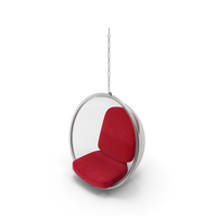 Hanging Bubble Glass Chair by Eero Aarnio PNG & PSD Images