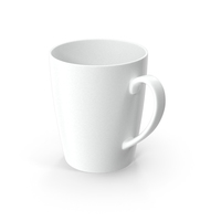 Classic Style White Ceramic Mug PNG & PSD Images