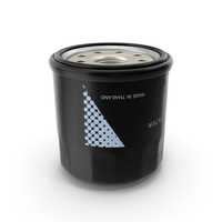 Oil Filter with Filtering Element PNG & PSD Images
