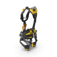 Petzl Astro Bod Fast Full Body Harness PNG & PSD Images