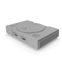 Sony Playstation Classic Gaming Console PNG & PSD Images